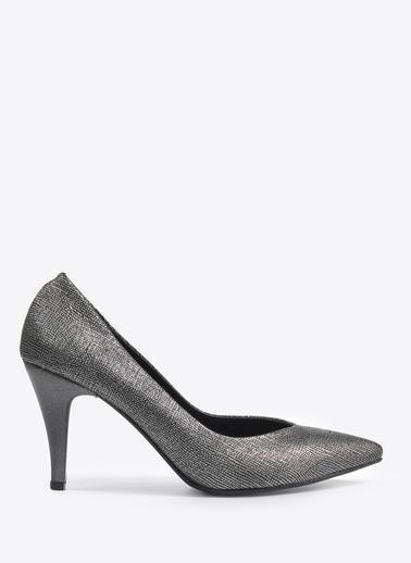 Vizon Ayakkabı Ayakkabı Gümüş